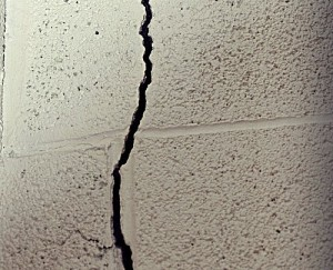 Crack in an Interior Wall