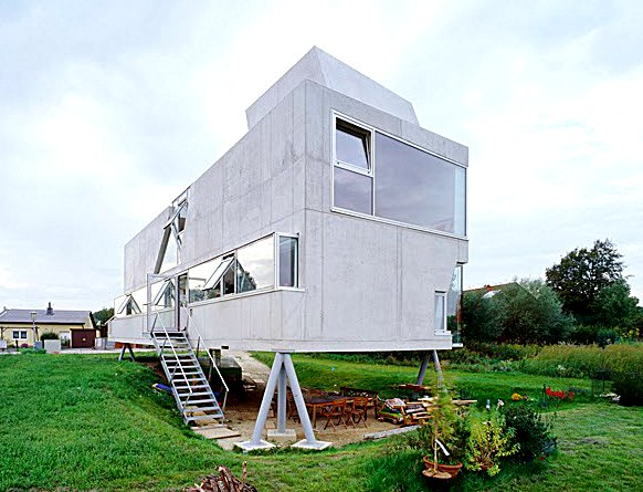 Innovative Anti Flood Home Design
