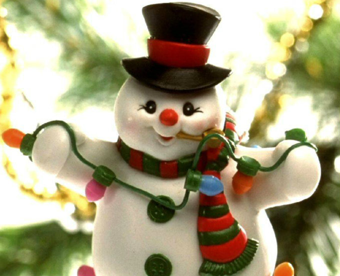 Snowman Decoration Toy