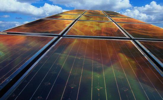 Hybrid Solar Panels Block