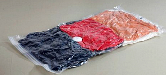 Vacuum Bag With Clothes