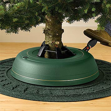 Holiday Tree With a Watering Stand