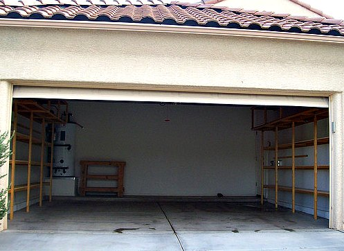 Empty Garage Space