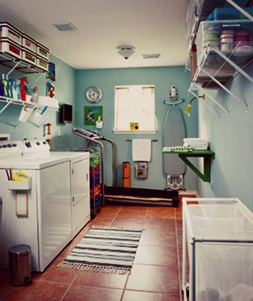 Optimised Laundry Room