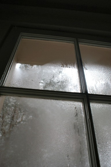 Condensed Moisture on Windows