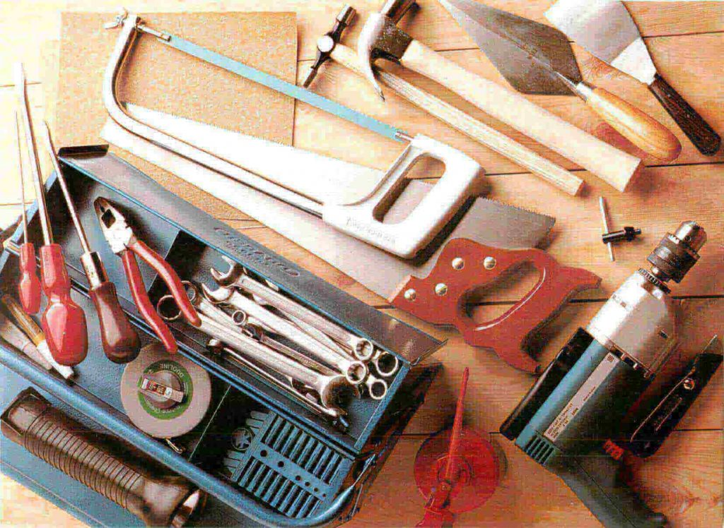 Handyman Set of Tools