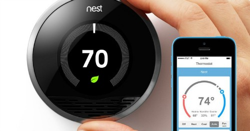 Nest Programmable Wi-Fi Thermostat For Remote Access