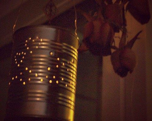 DIY Valentine's day lantern