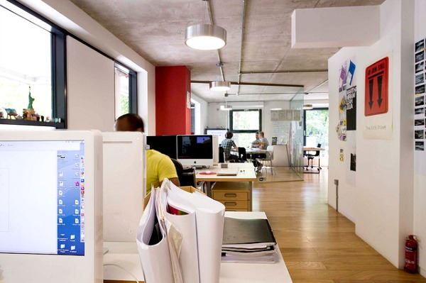 great office environment