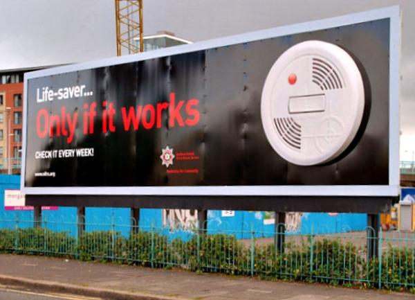 Smoke Detectors Bilboard