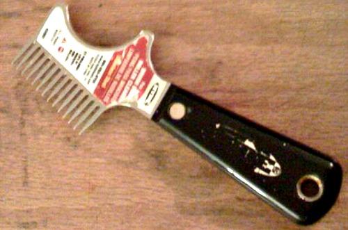 Painting Brush Comb