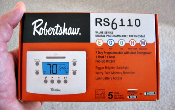 Programmable Thermostat Save Energy