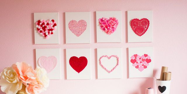 DIY Decorations For St Valentine's Day