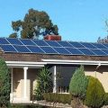 Nice House With Mounted Solar Panels